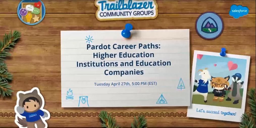 ", Panel Pardot Career Paths: Pardot in Education<span class=""wtr-time-wrap after-title""><span class=""wtr-time-number"">1</span> minutes de lecture</span>"